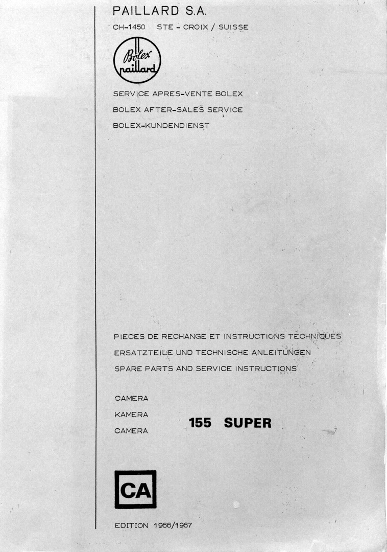 Bolex_155_Spare_parts_and_service_instru